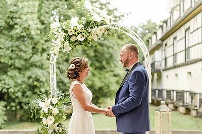 arche décoration mariage laique