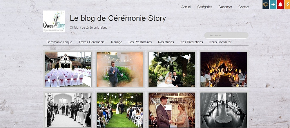 blog ceremonie story