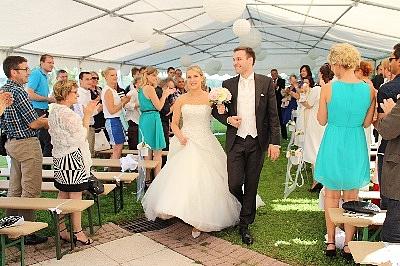 ceremonie story retour mariage
