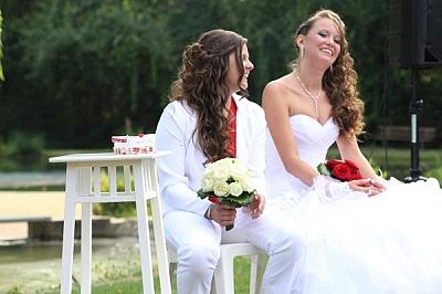 mariage laique couple femme