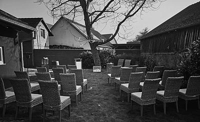mariage laique en extérieur