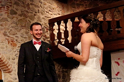 mariage laique chateau