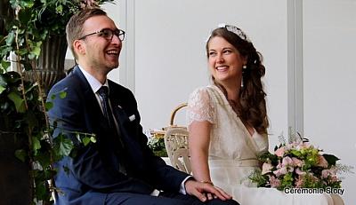 mariés ceremonie laique