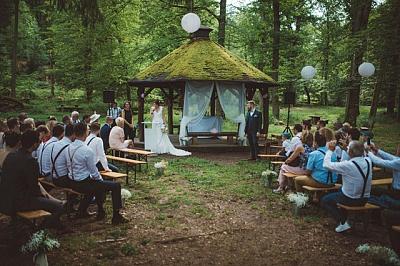 mariage laique champetre