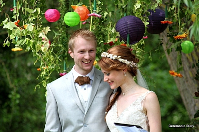 mariage laique reportage photo
