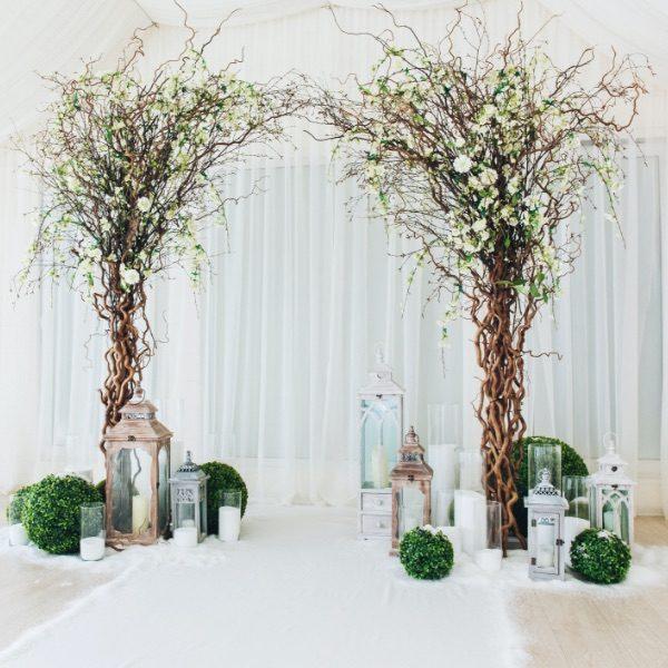 decoration lanterne mariage laique